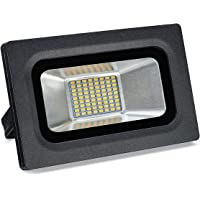 Solla 15W LED Flood Light Outdoor Super Bright Security Lights,Daylight White (5500-6500K),1125 LM,72LEDs,Waterproof Floodlight Landscape Spotlight Outdoor Wall Lights