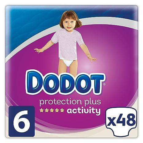 Dodot Pañales Protection Plus Activity, Talla 6, para Bebes de 13+ kg -