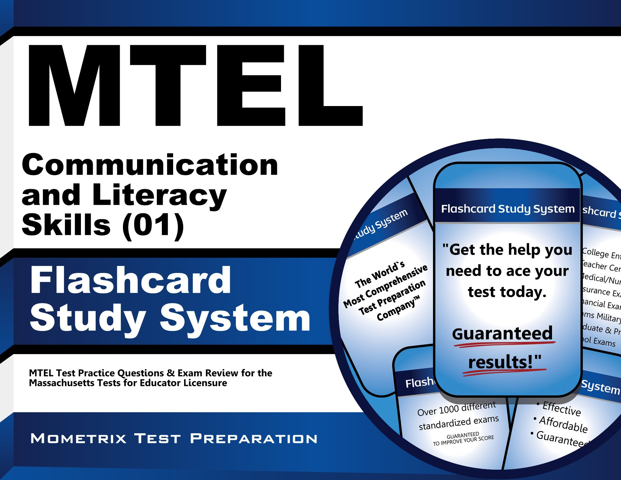 MTEL Communication and Literacy Skills (01) Flashcard Study System: MTEL Test Practice Questions & Exam Review for the Massachusetts Tests for Educator Licensure pdf