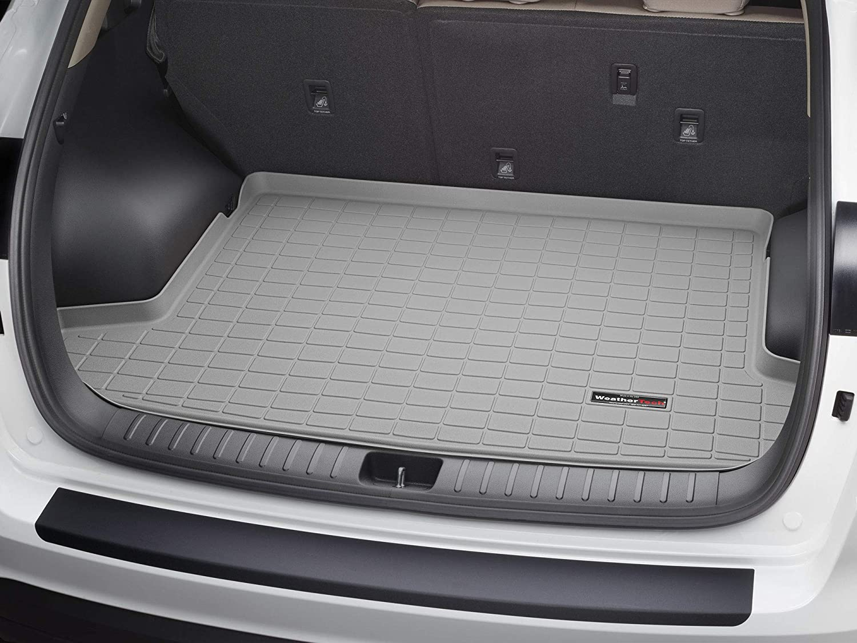 Amazon Com Weathertech Custom Fit Cargo Liners For Toyota Rav4 4 Door New Body Grey Automotive