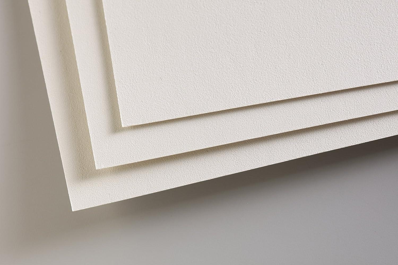 Clairefontaine 197010C Confezione Pastelmat, 24 x 32 cm, 5 Fogli, Grigio Chiaro, Carta, 32.0 x 24.0 x 0.3 cm