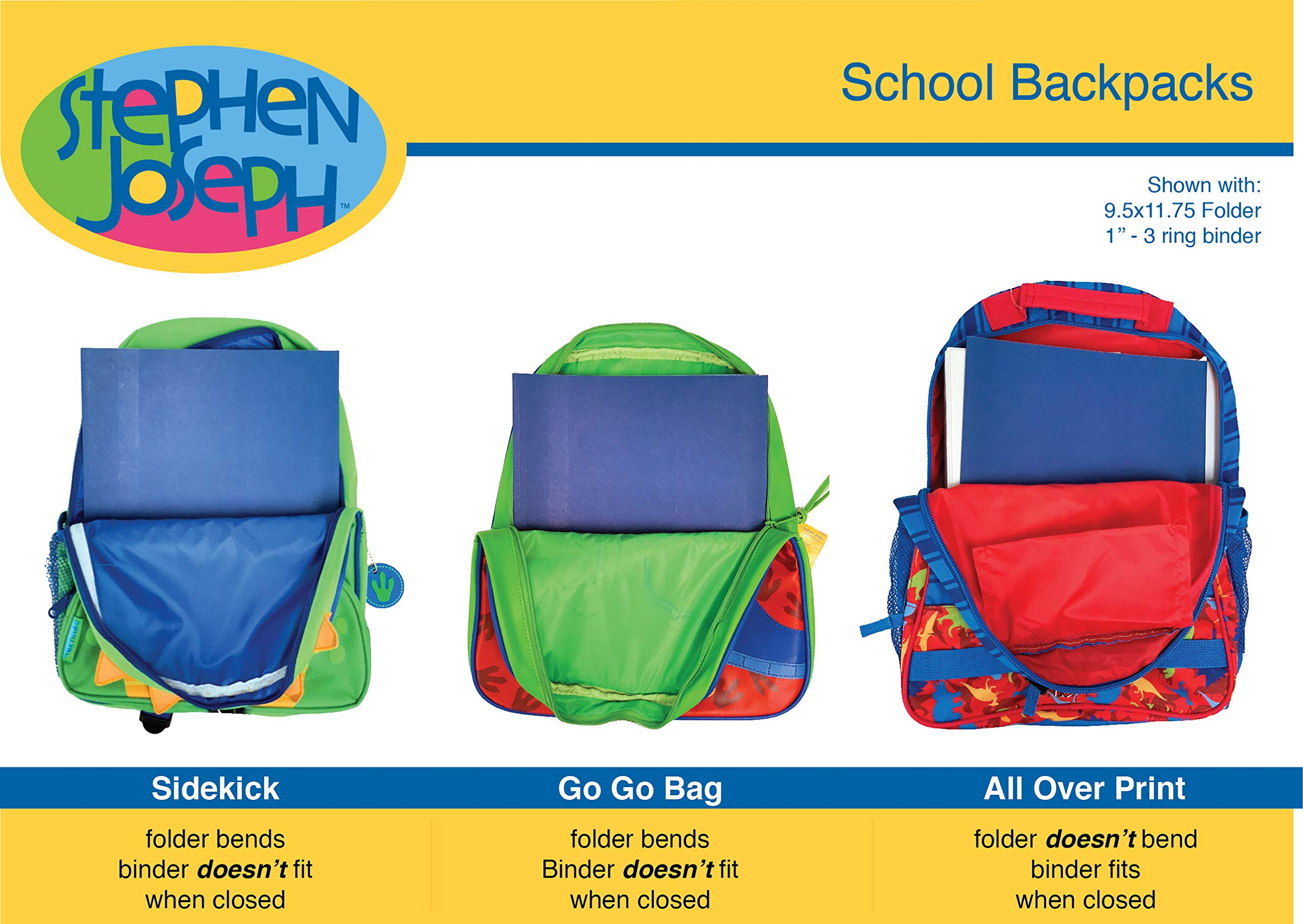 ee2c7e26de Stephen Joseph Sidekick Backpack