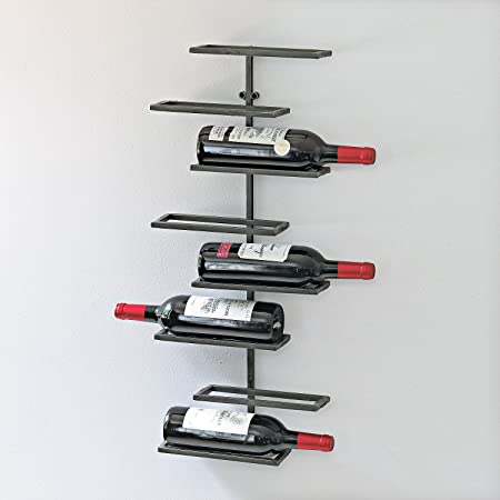 Wine Enthusiast 8 Bottle Urban Wall Wine Rack