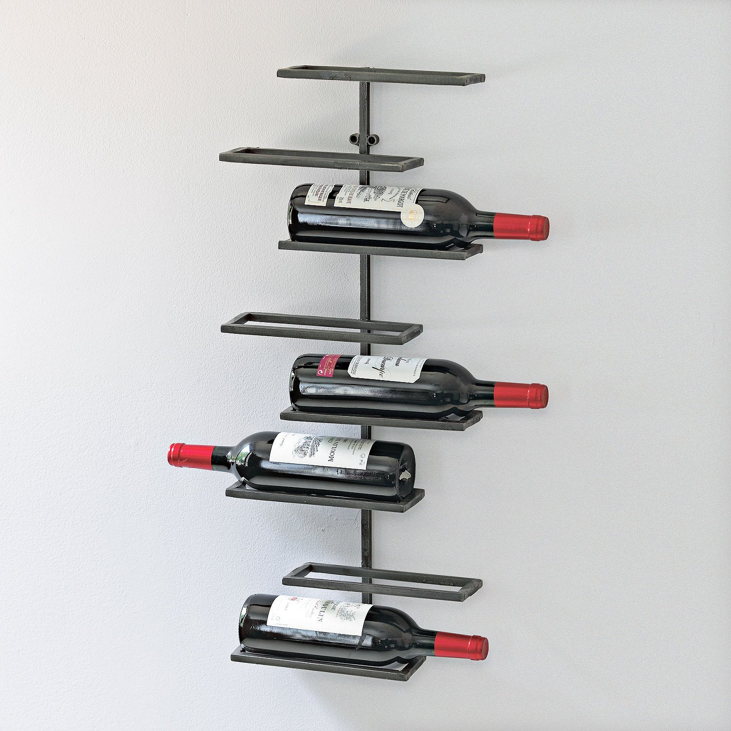 Wine Enthusiast 8 Bottle Urban Wall Wine Rack by Wine Enthusiast (Image #1)