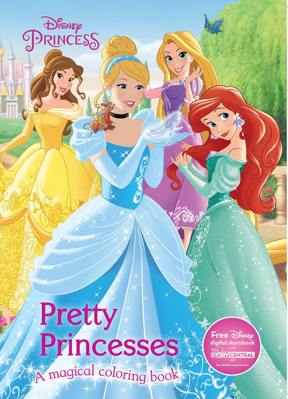 Pretty Princesses Coloring Book Disney Princess Color Fun Parragon Books Ltd 9781474821131 Amazon