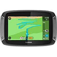 TomTom GPS Moto RIDER 400 Premium Pack Europe 48 Cartographie, Trafic et Zones de Danger à Vie (1GE0.002.03)