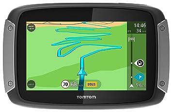 """TomTom Moto Rider 400 - GPS para Coches de 4.3"""" (Pantalla táctil, mapas"""