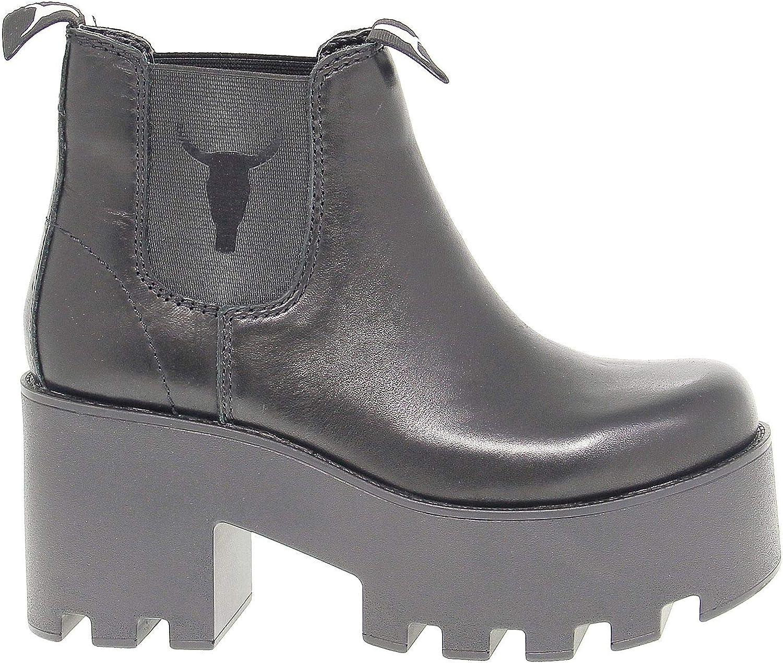 Season Permanent Windsor Smith Luxury Fashion Womens HELSINKIBLACK Black Ankle Boots