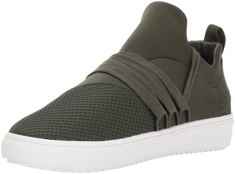 Steve Madden Women's Lancer Fashion Sneaker B005BC2NPC 9.5 B(M) US|Olive
