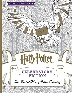 The Best Of Harry Potter Coloring Celebratory Edition