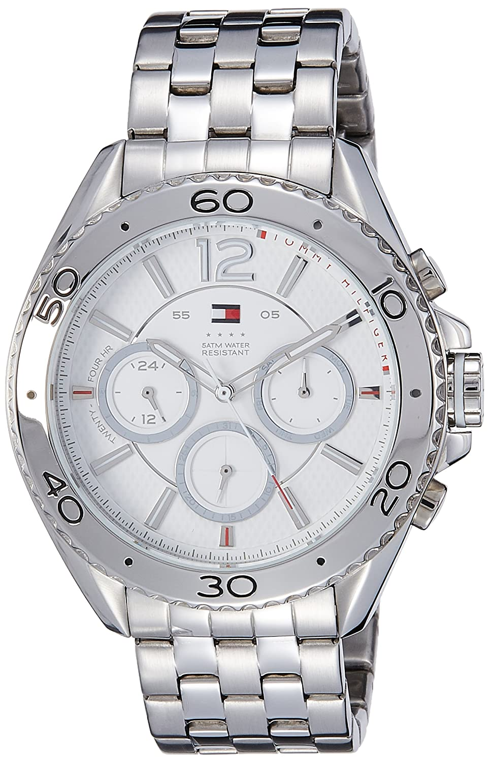 Buy Tommy Hilfiger White Dial Analog Chronograph Watch Th1791032
