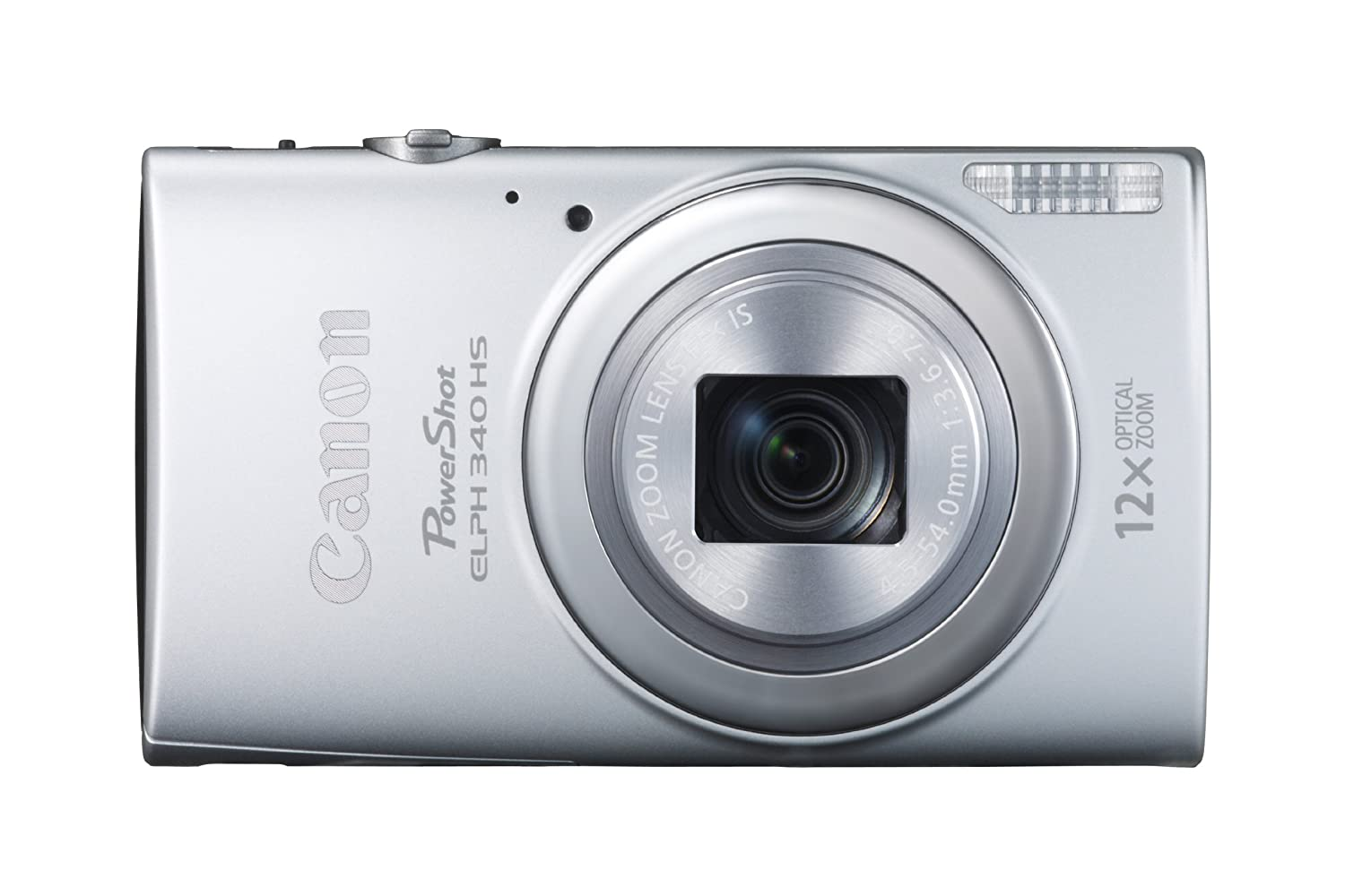 Amazon.com : Canon PowerShot ELPH 340 HS 16MP Digital Camera (Silver) :