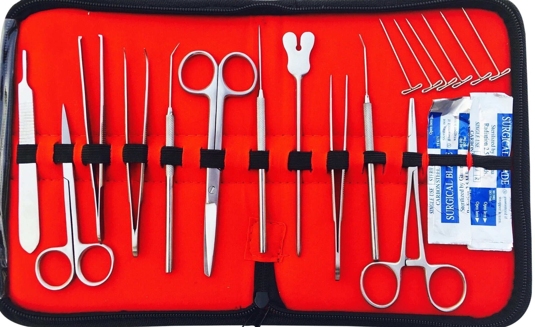 Amazon.com: 29 Pcs Advanced Dissection Dissecting Kit-6 T-Pins ...