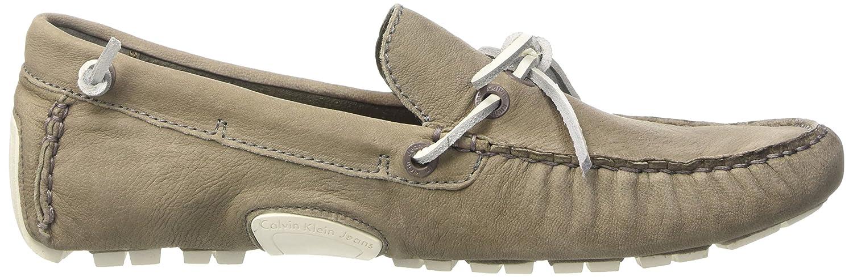 Calvin Klein JeansGus Washed - mocasines Hombre, Gris - Grey (Slate), 40: Amazon.es: Zapatos y complementos