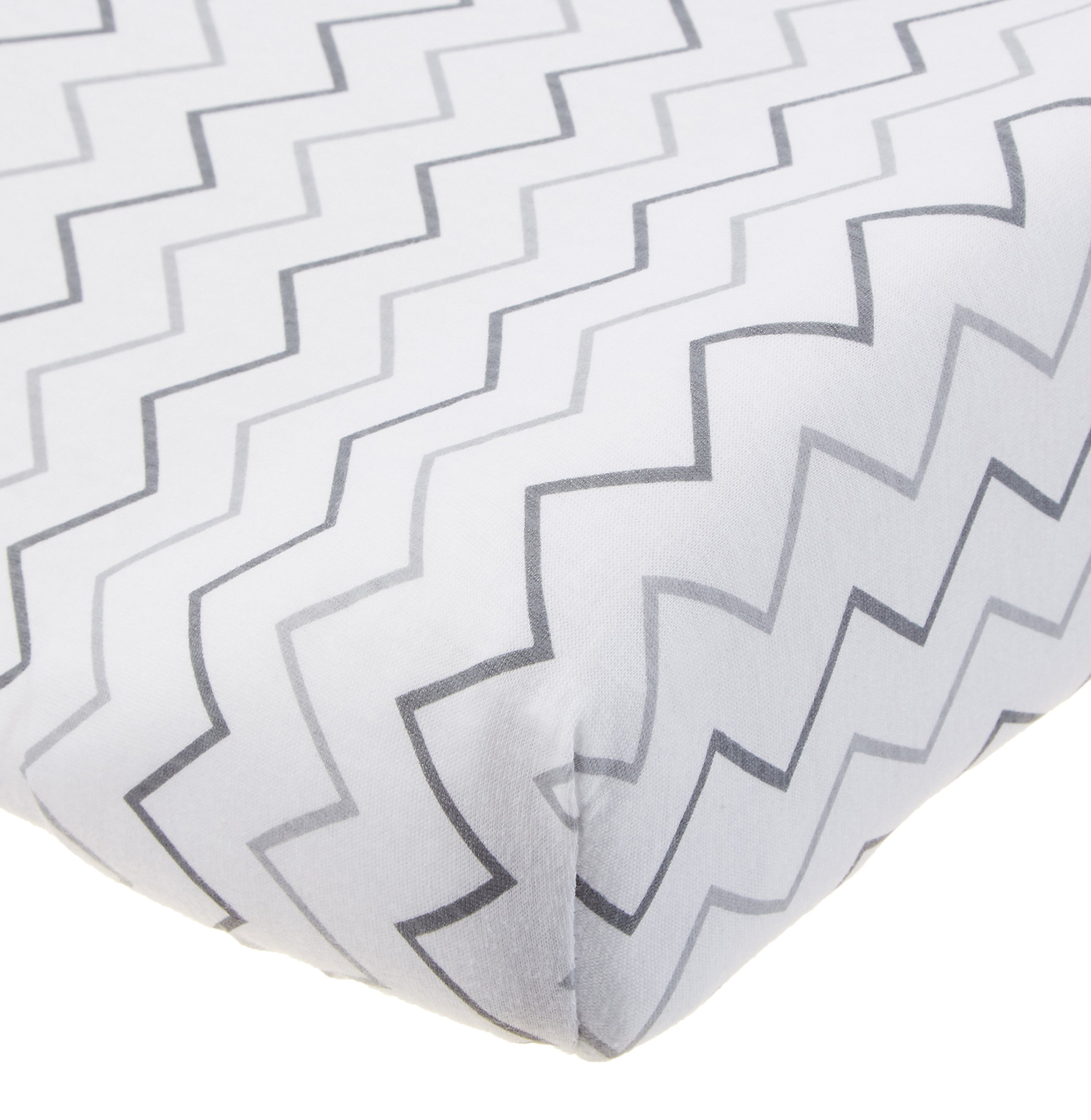 American Baby Company Printed Cotton Jersey Knit Fitted - American table pad company