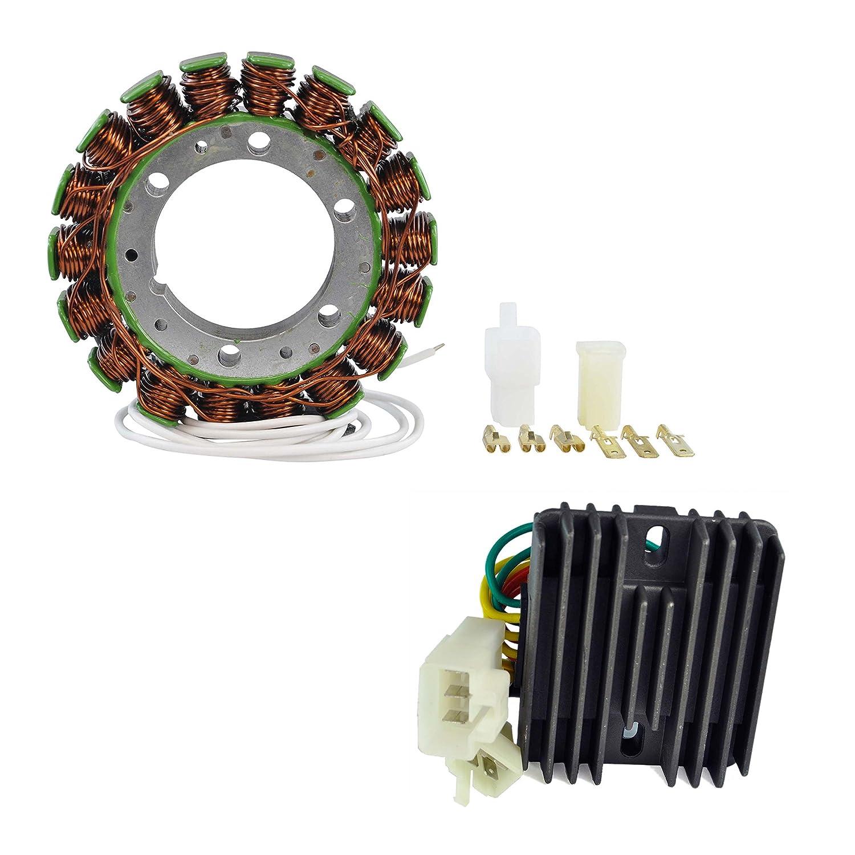 Kit Stator + Voltage Regulator Rectifier For Honda CBR 929 RR 2000 2001 OEM Repl.# 31120-MCJ-003 31600-MCJ-641 RMSTATOR