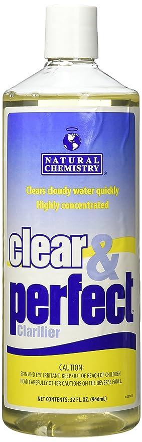 Natural química claro y perfecto piscina clarificador de ...