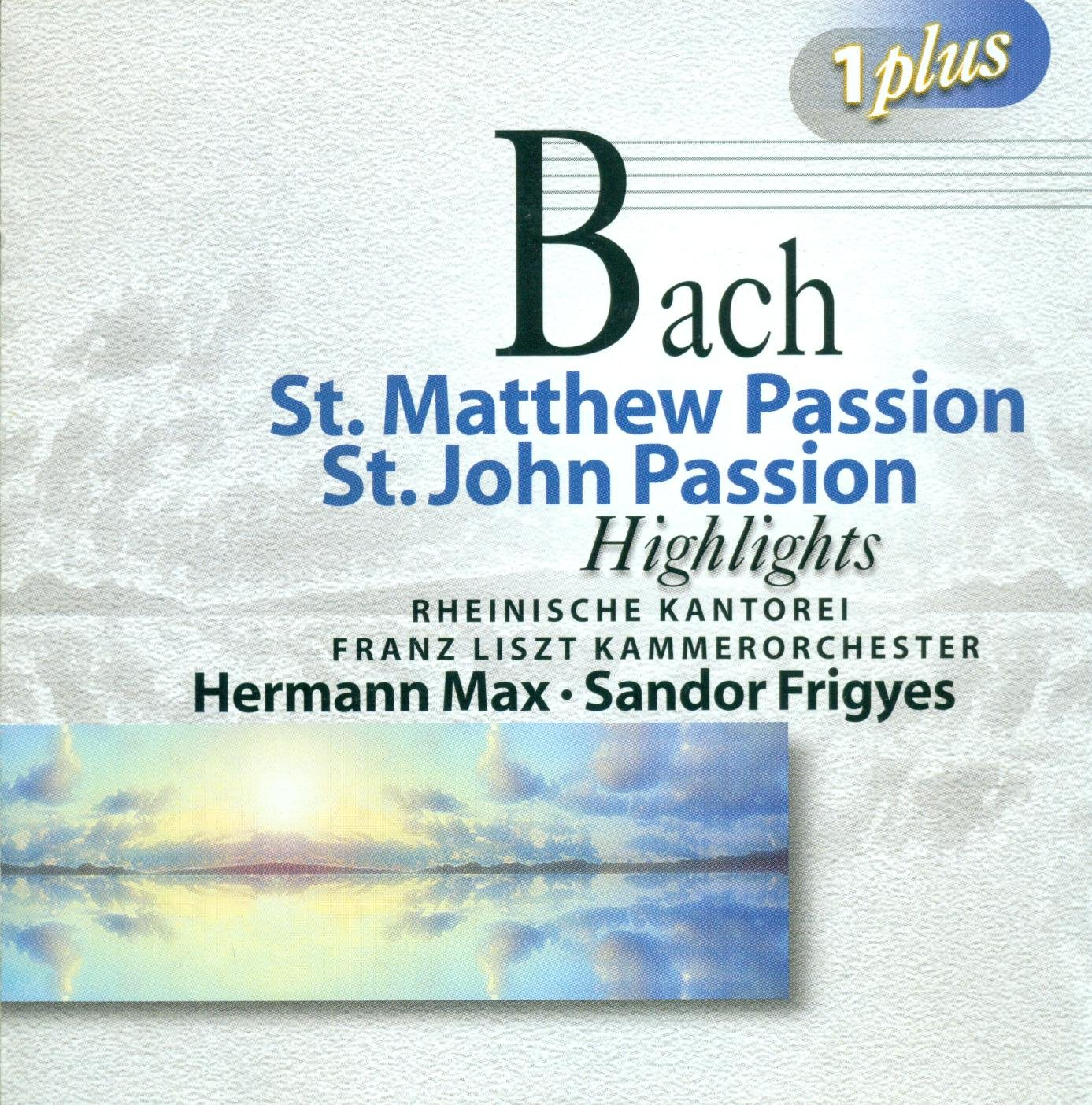 Latest item St Matthew Passion Animer and price revision
