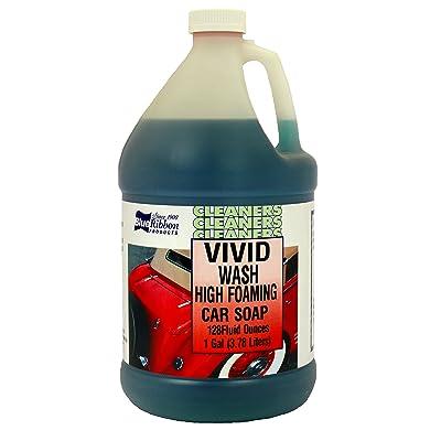 Blue Ribbon 82102 Vivid Wash Auto Wash - 1 Gallon: Automotive