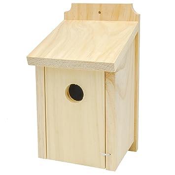 gardirect Classic - Caja nido para aves silvestres, casa de pájaros para azul Tit, Sparrow: Amazon.es: Jardín