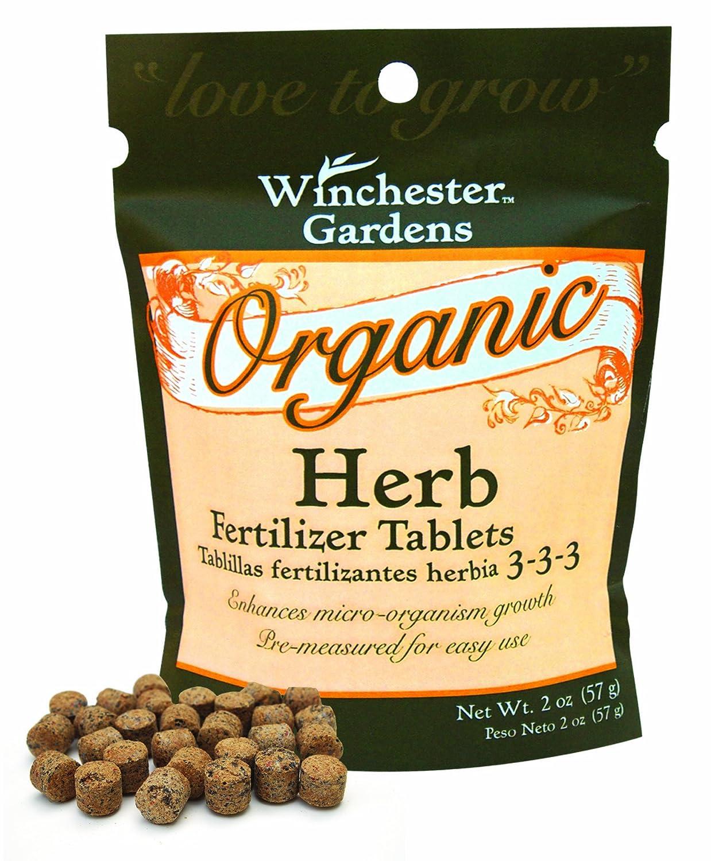 Amazon.com : Winchester Gardens Organic Herb Fertilizer Tablets, 2 Ounce  Package : Plant Food Herbs : Garden U0026 Outdoor