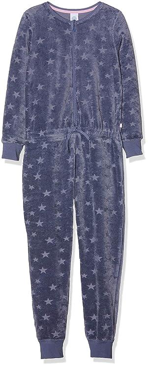Sanetta Mädchen Jumpsuit Long Einteiliger Schlafanzug
