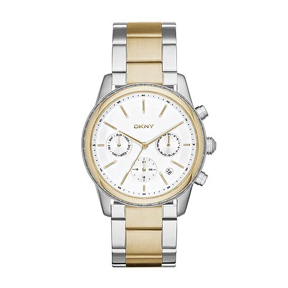 Reloj DKNY para Mujer-Reloj Digital de Cuarzo Acero Inoxidable NY2333: Amazon.es: Relojes