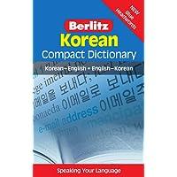 Berlitz Compact Dictionary Korean: Koreanisch-Englisch/Englisch-Koreanisch (Berlitz Compact Dictionaries)