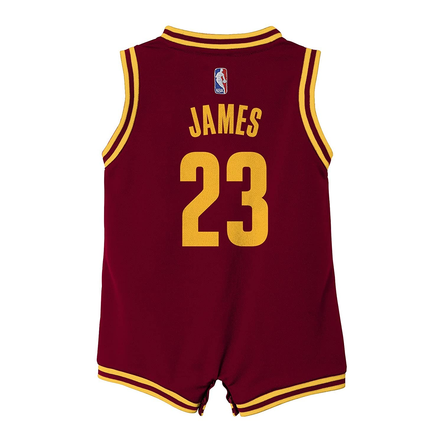 wholesale dealer 04da6 8d4a5 NBA Cleveland Cavaliers James Boys Infant Replica Road ...