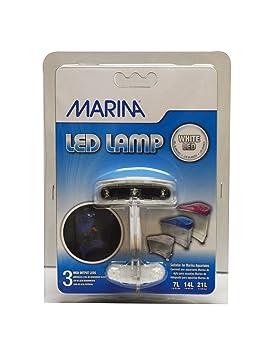 Marina Aquarium 3 Goldfish Eclairage Gamme Pour Leds UzSpMV
