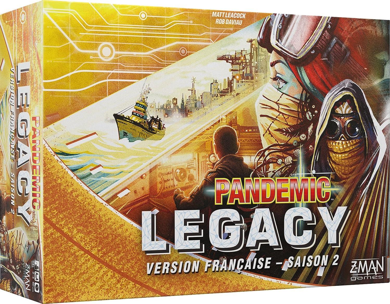 tienda en linea Asmodee – Pandemic – Legacy Amarillo Saison Saison Saison 2, pan08yel, no precisa  envío gratuito a nivel mundial