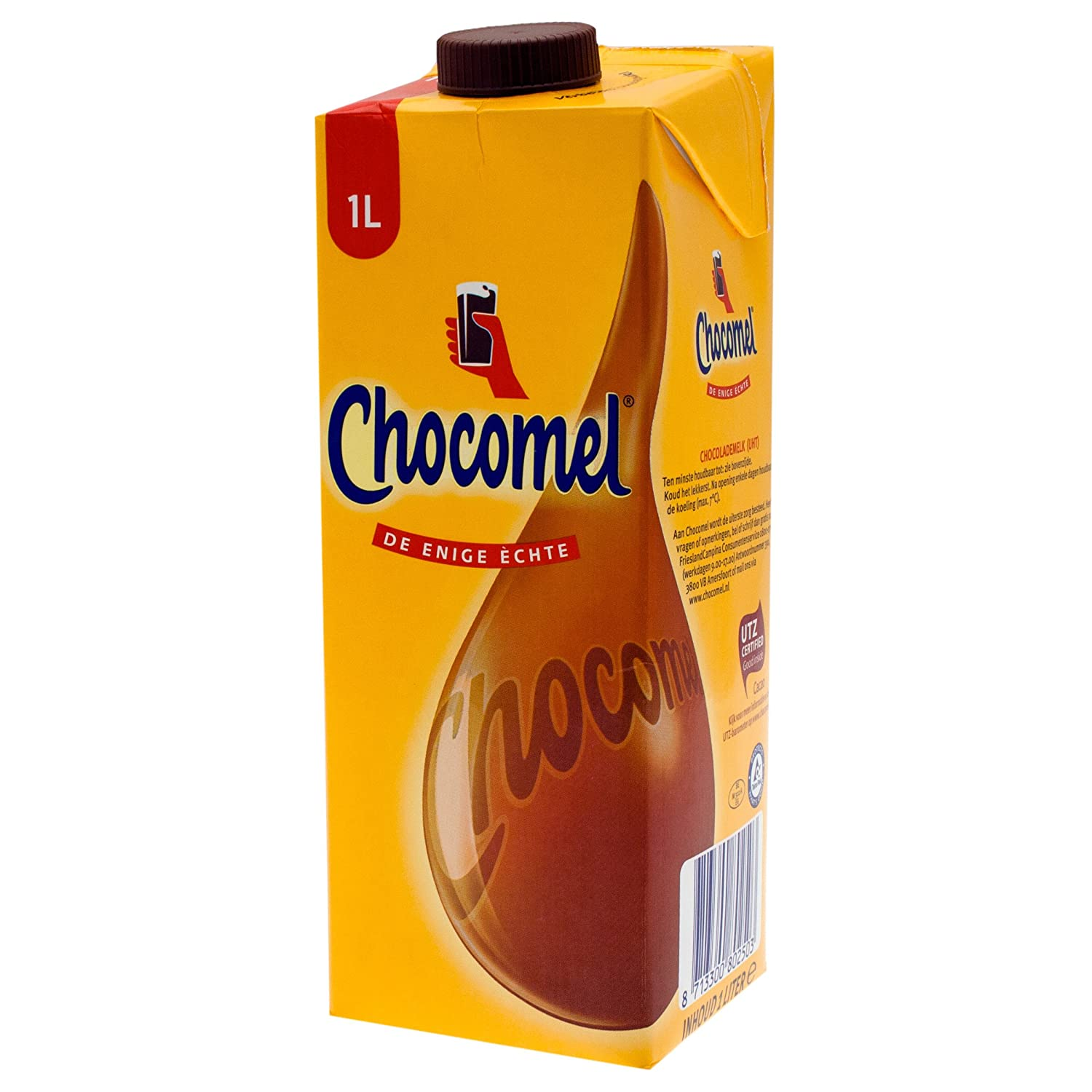 Chocomel Chocolate Milk Drink, Juice Box, 6 x 200 Milliliter ...