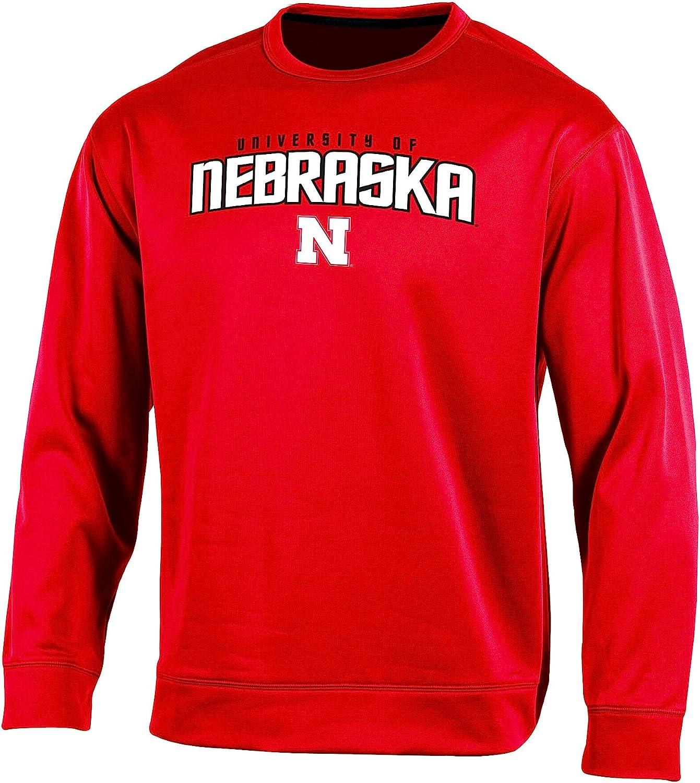 Champion NCAA Mens Run /& Shoot Crew Neck Fleece