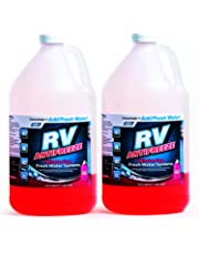 Camco RV Antifreeze Concentrate - 36 ounces of Concentrate Makes 1 Gallon of Antifreeze, Just Add Fresh Water, Great for Use in RVs, Boats, Vacation Homes and Pools - Pack of 2 - 30611