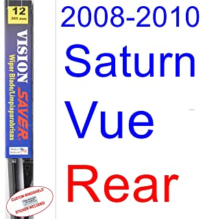 2008-2010 Saturn Vue Wiper Blade (Rear) (Saver Automotive Products-Vision