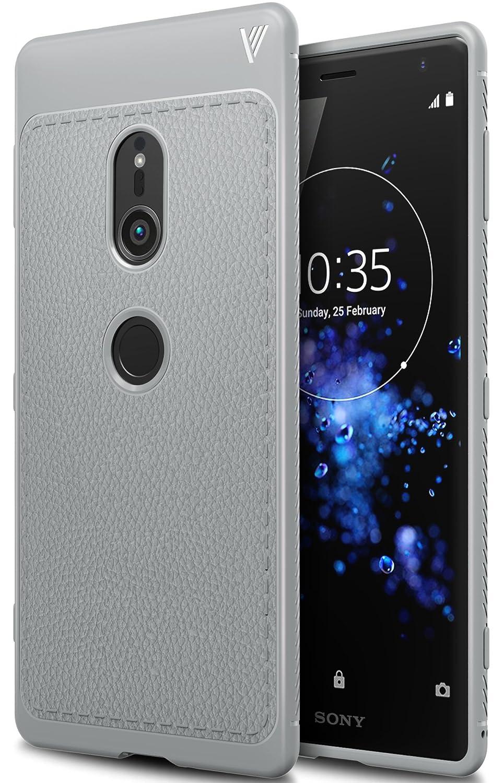 promo code ea5e6 98f27 Sony Xperia XZ2 case, KuGi Sony Xperia XZ2 case, SS [Scratch Resistant]  Premium Flexible Soft Anti Slip TPU Case for Sony Xperia XZ2  smartphone(Gray)