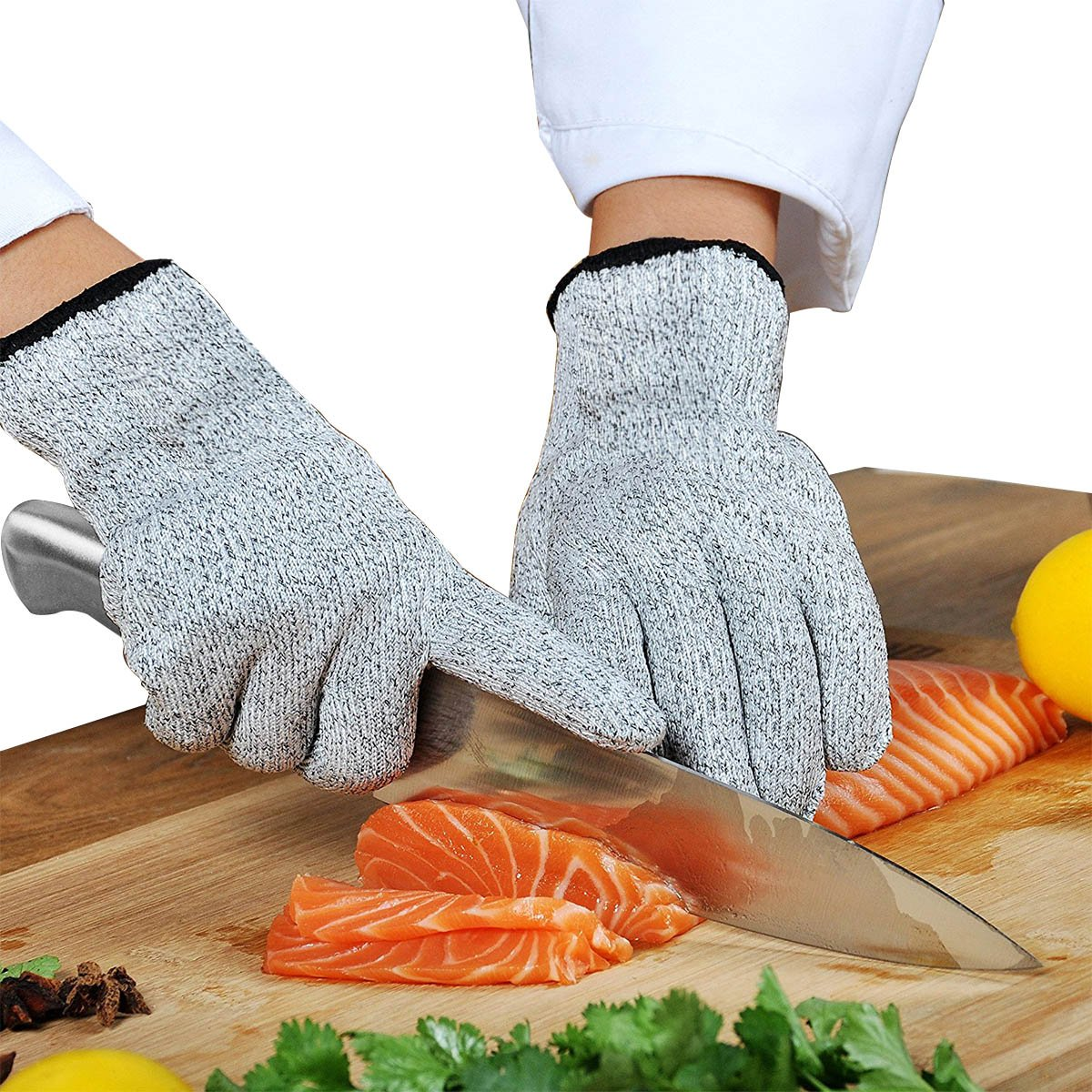 Cut Resistant Gloves - High Performance Level 5 Protection, Food ...