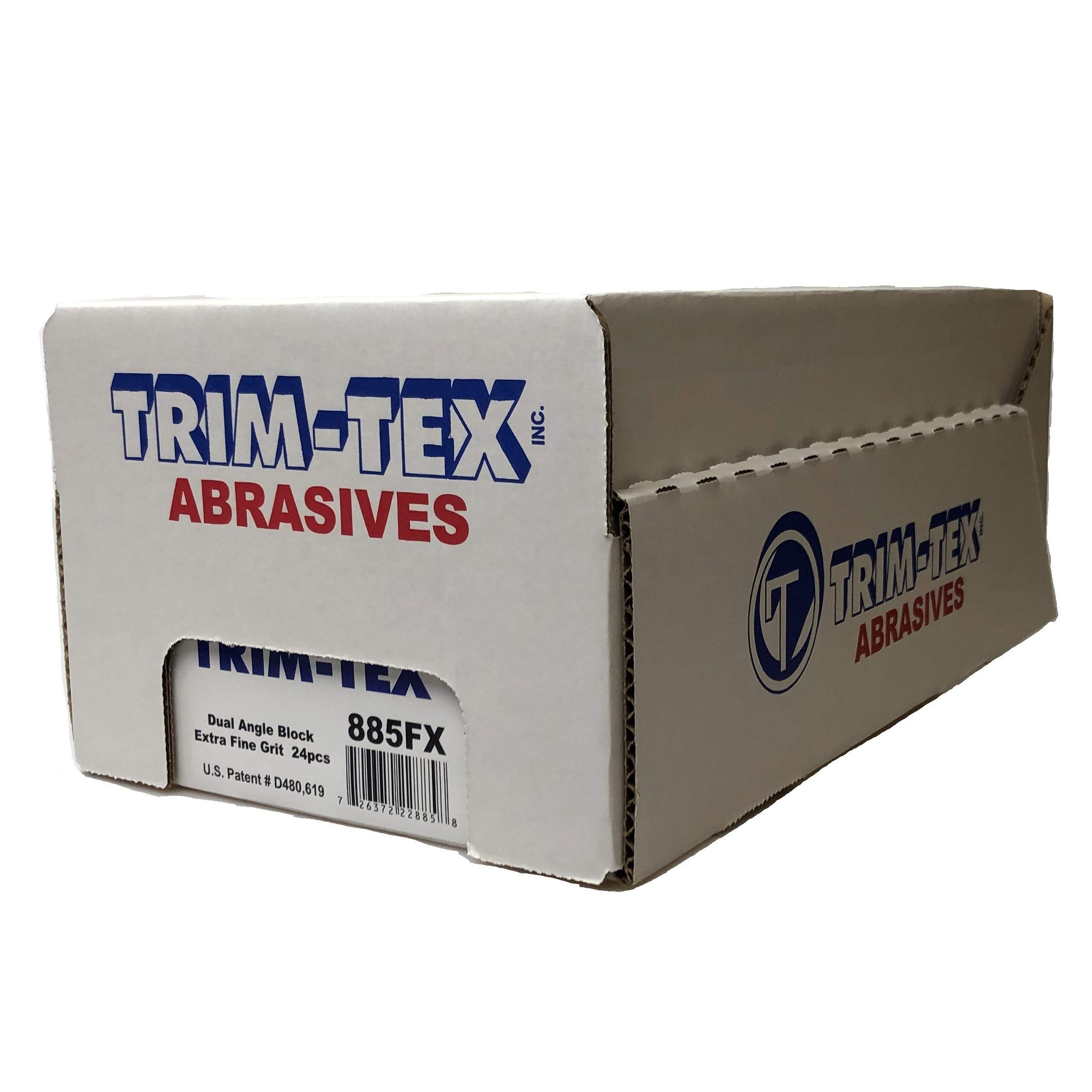 Dual Angle Sanding Block Extra Fine Grit (Box of 24) by Trim-Tex (Image #2)