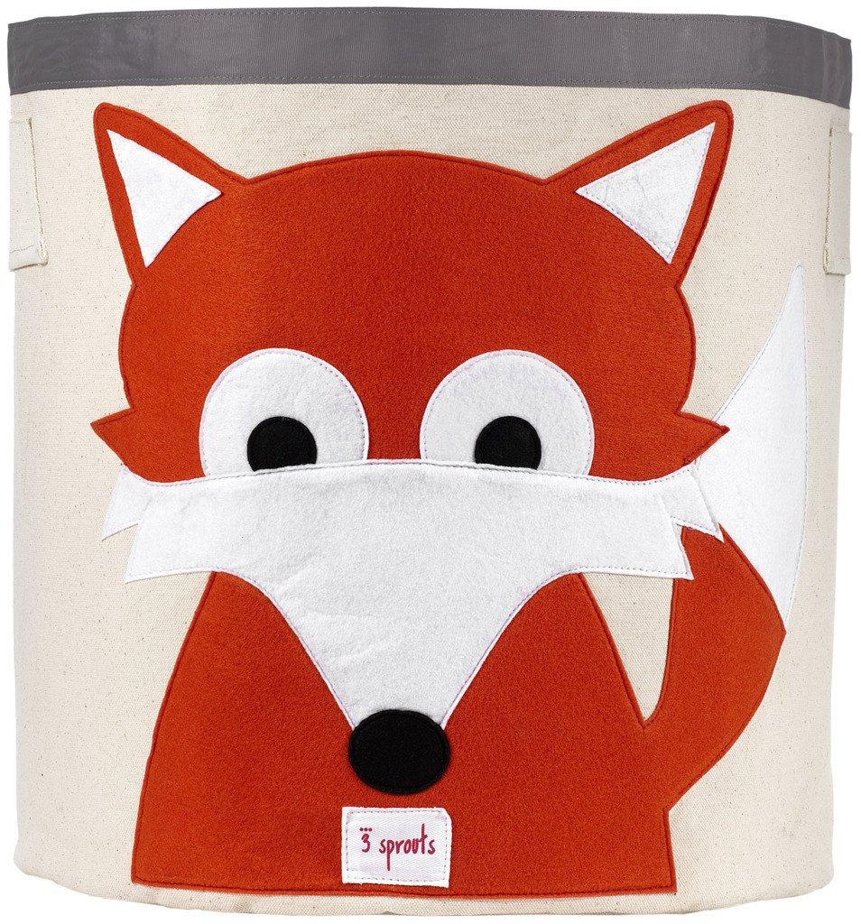 Canvas Storage Bin - 12 Animals to Choose From