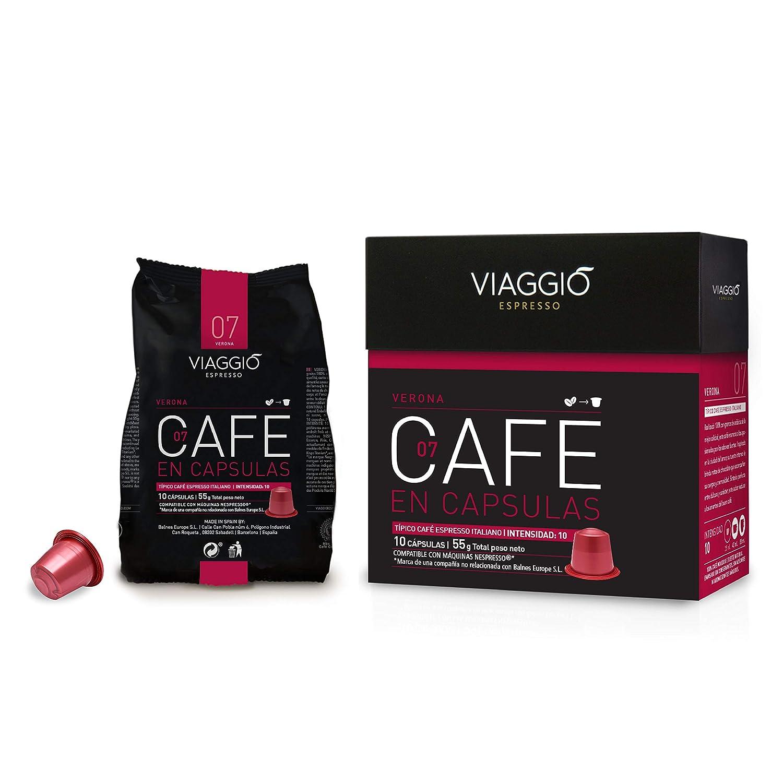 VIAGGIO ESPRESSO - 240 Cápsulas de Café Compatibles con Máquinas Nespresso - SELECCIÓN ESPECIAL: Amazon.es: Alimentación y bebidas