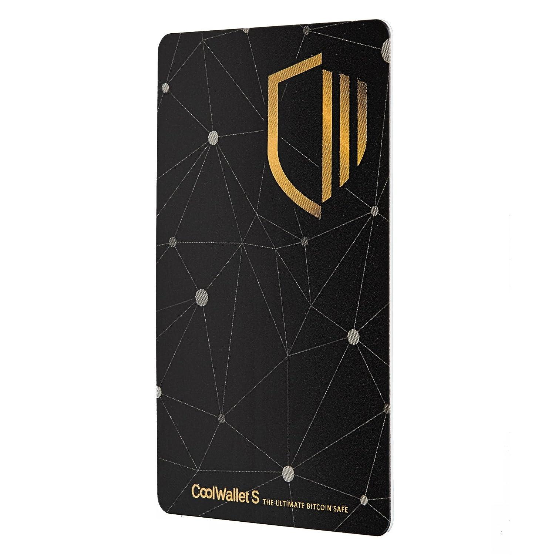 Coolwallet S Bluetooth Hardware wallet para almacenar criptomonedas como Bitcoins, Ethereum (ERC20), Litecoin, Ripple + BONUS