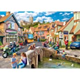 Gibsons Then and Now Jigsaw Puzzle (2 x 500-Piece)