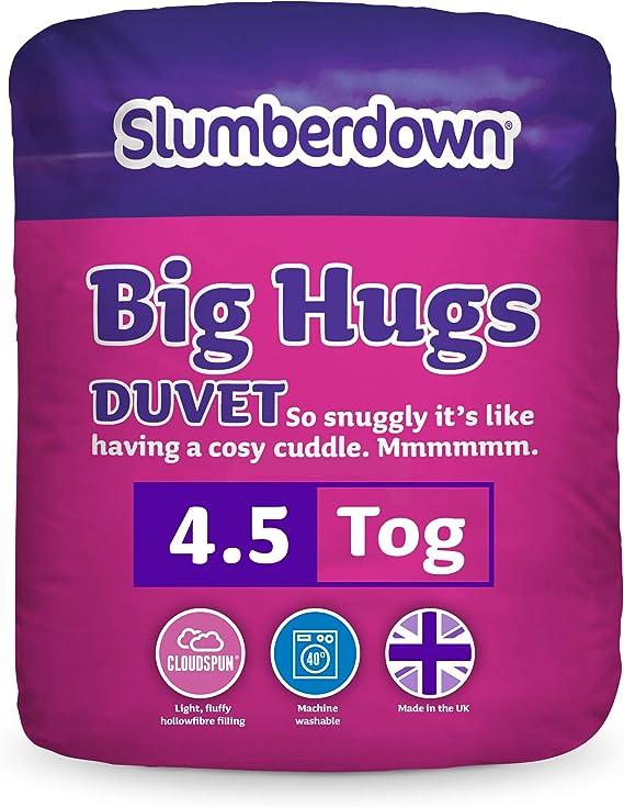 Slumberdown toutes saisons King Taille Couette 4.5 Tog Plus King Taille Couette 10.5 Tog