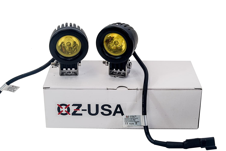 /™ Mini Trail Lights OZ-USA LED CREE Spot Motorcycle Offroad Dual Sport Enduro Fog KTM Hid