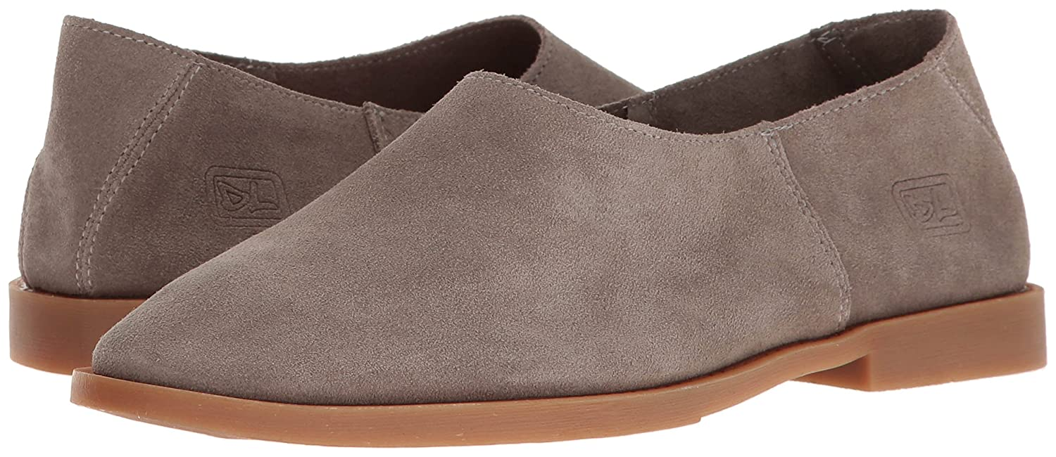 Dirty Laundry by Chinese Flat Laundry Women's Kicked Out Flat Chinese B01LX7B8PP 9.5 B(M) US|Grey Suede b5b038