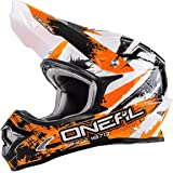 ONeal 3Series MOTOCROSS/MTB HELM Shocker schwarz/Orange