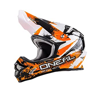 ONeal 3Series Afterburner MX Helm Schwarz Motocross 312 0623A-2