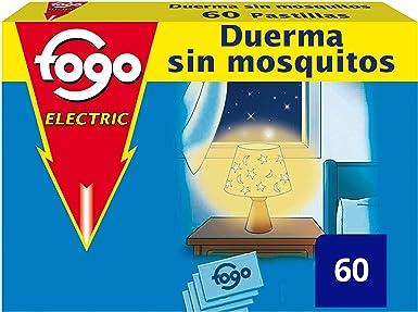 Fogo Anti-Mosquitos Insecticida Insectos 60 Pastillas para Aparato ...