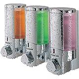 Better Living Products AVIVA Three Chamber Dispenser, Chrome