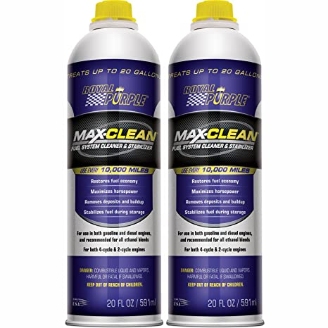 ROYAL PURPLE Royal Morado 11722 – 2PK MAX-Clean Sistema de Combustible Limpiador y estabilizador